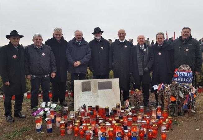 Izaslanstvo HGZ-a u Vukovaru
