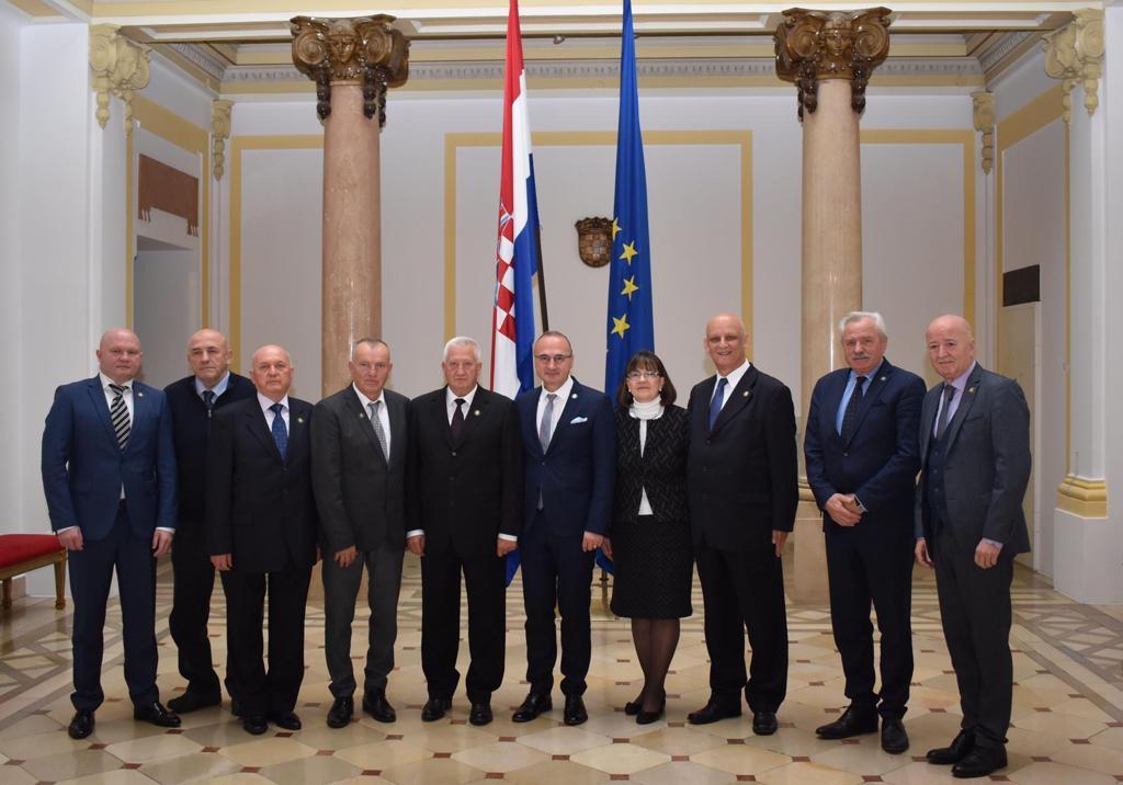 Izaslanstvo Hrvatskog generalskog zbora u Ministarstvu vanjskih i europskih poslova