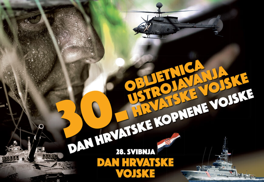 Čestitamo Dan Hrvatske vojske i Dan Hrvatske kopnene vojske !