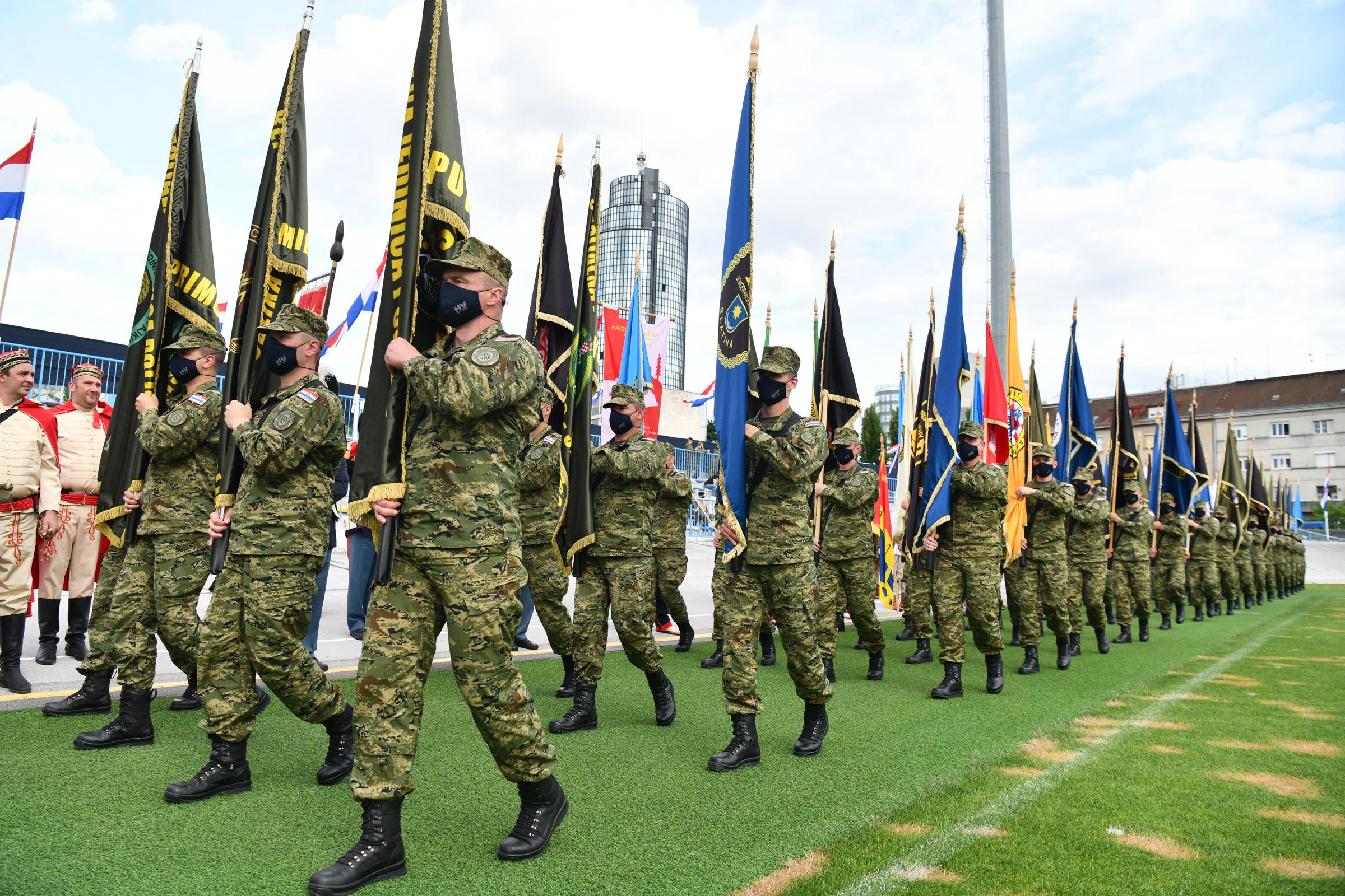 Obilježen Dan HV, Dan HKoV i 30. obljetnica ustrojavanja Hrvatske vojske