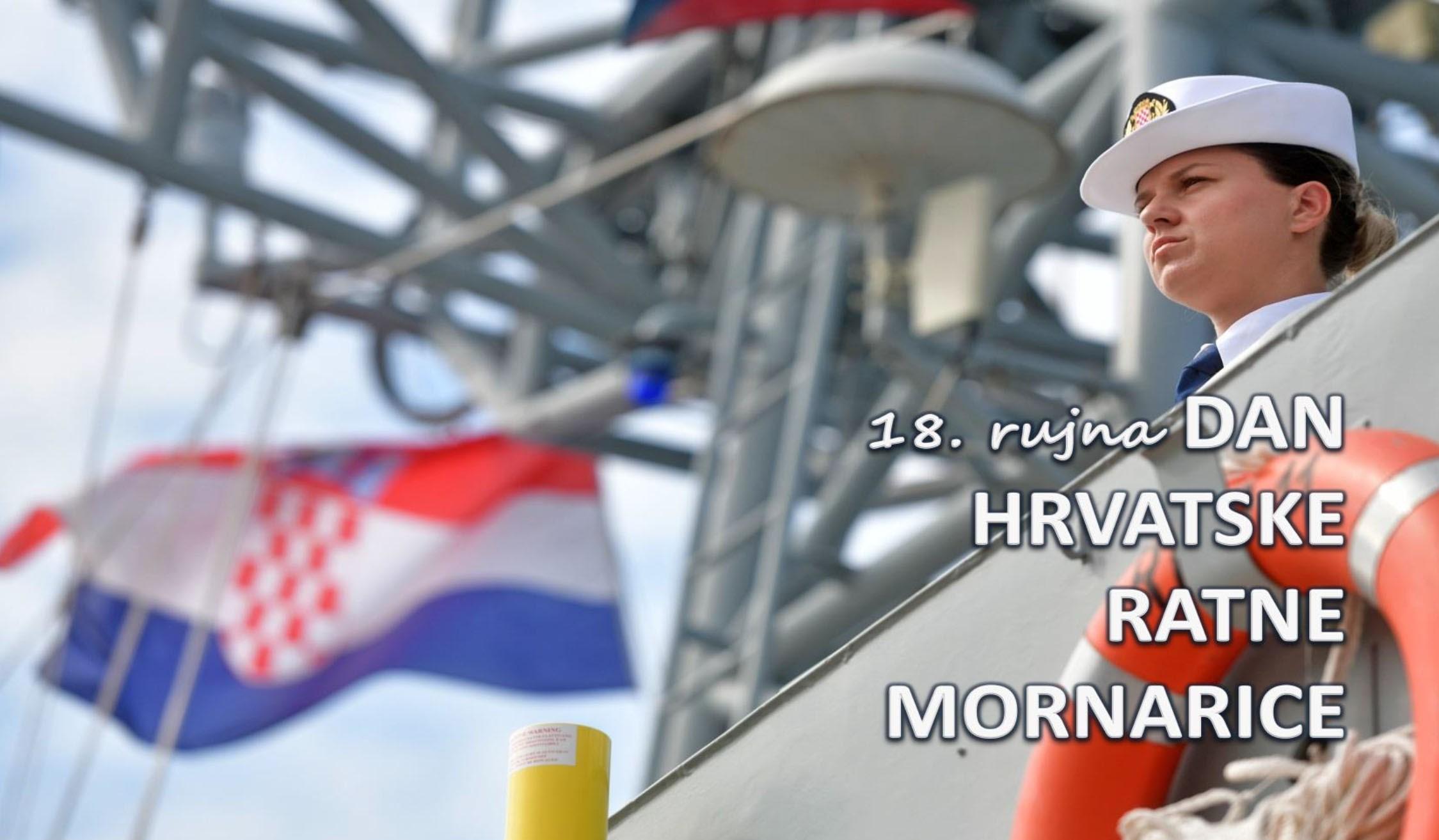 Čestitamo 30. obljetnicu osnutka Hrvatske ratne mornarice